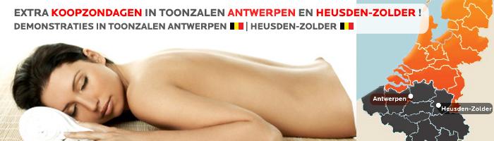 Infrarood Sauna Koopzondagen bij SuperSauna in Belgie!