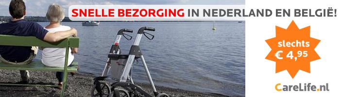Rollators - Snelle bezorging in Nederland en België!